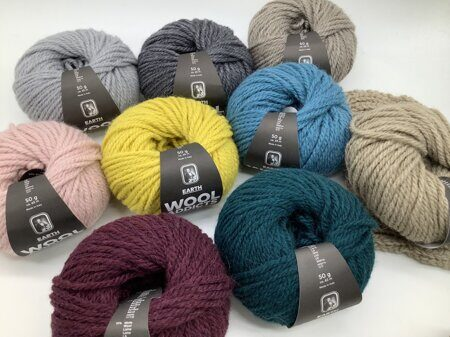Пряжа Earth Wool Addicts by Lang Yarns